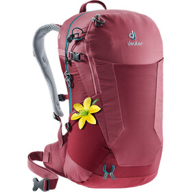Deuter W's Futura 22 SL Backpack cardinal-cranberry